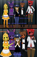 Five Nights at Freddy's by loooollol995