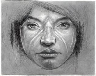 Untitled Study by MichaelShapcott