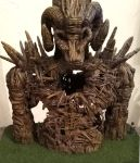 Wickerman Maquette back view by SteveDeLaMare