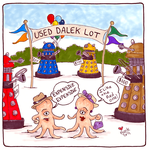 Used Dalek Lot by beckadoodles