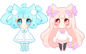 Kitty And Pipo Mini Cheeb 2 by Powder-Puff