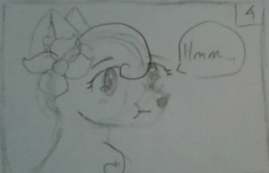 Panel 4 of a comic I have to draw for science by Juniper5202