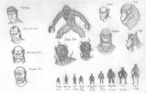 Chaos Races Concept Art by DWestmoore