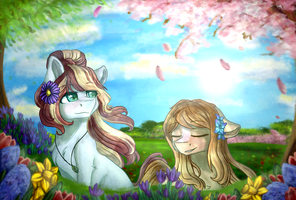 Spring Time by Jazzerix