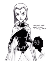 Teen Titans' Raven [2003 version] by JadeLikeJay