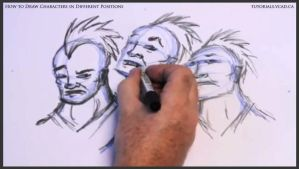 Learn to draw characters in different positions 22 by drawingcourse