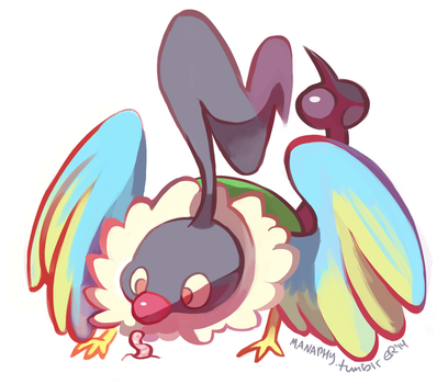chatot by blubified