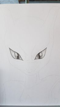 Mewtwo WIP 1 by MilanRKO
