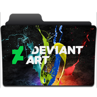 Deviant Folder Icon by vicevicente