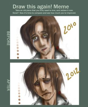 Before and After - Ezio by Pirate-Assassin