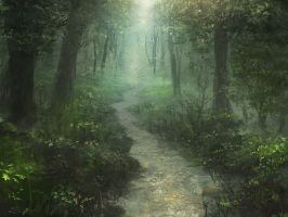 Forest Path by serjio-c