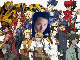 Character Compilation: Johnny Yong Bosch (2) by Melodiousnocturne24