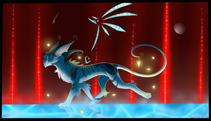 :Gift:''We must hurry..'' by Deathtail-The-DraCon