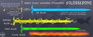 RWBY OC Weapon - Kolosskrone by Lightning-in-my-Hand