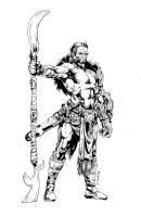 Warrior design inks by devgear
