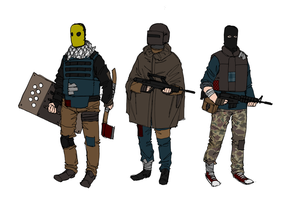 Patchwork Soldiers by NicklausofKrieg