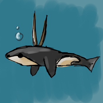 Whale Gazel animal mix 2/3 by AnimaloverXD