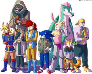 The Knothole Freedom Fighters, SatAM Edition by General-RADIX