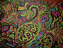 Highlighter Doodle by Lizadoodle