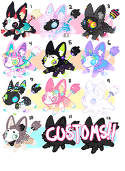 - Spoopy Fox Adopts - by BleedingColorAdopts