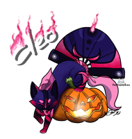 Cleo : Fantsuneko of the Month October by StanHoneyThief