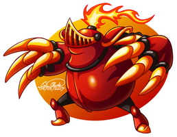 Mole Knight by Sawuinhaff