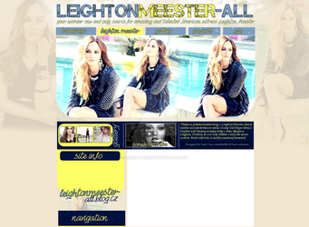 Leighton Meester Layout by Lexigraphic