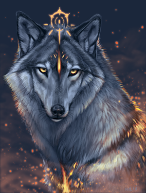 wolf by NukeRooster