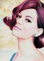 Claudia Cardinale by Pevansy