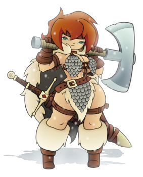 Red Sonja by tap0330