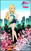 AT: Peypan City Girl by florainbloom