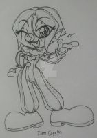 Skeleton - Fun N' Games - Chibi - Zippy Giggles by PlayboyVampire