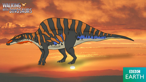 Walking with Dinosaurs: Ouranosaurus by TrefRex