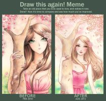 Draw This Again Meme by Kon92-chan