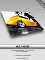 Orange Wallpaper by FastNFurious