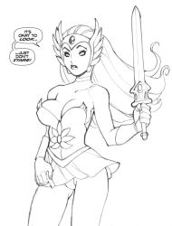 SHE-RA....Just don't STARE by RyanKinnaird