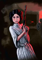 Princess Leia by ChemaIllustration