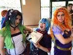 The Dazzlings in Taco Bell by purpletinker