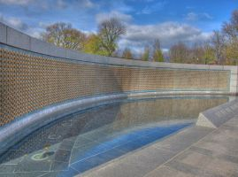 World War II Memorial HDR by ProvoAggie