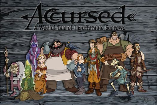 Accursed - cast of characters by AccursedTales