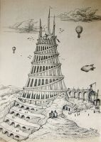 Tower of Babel by Panaiotis