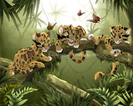 In the jungle by Kamirah