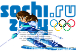 Irma at the 2014 Sochi Olympics by Galistar07water