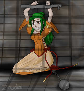 Fire Emblem 2009 series - Elincia by Zoudai