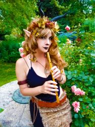 Faun and Roses by HeatherAfterCosplay