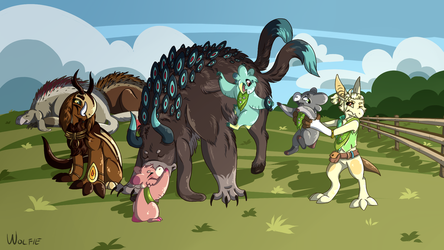 Bug Camp - Rattle Mites by WolfieTheConqueror