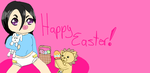 happy easter by MugetsuFused