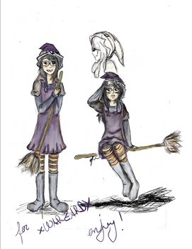 Winnie the Witch By Videogamefreakgirl by xWARZARDx