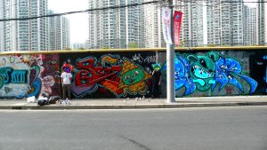 Shanghai Graffiti 39 by sylences