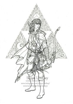 Link: Colouring Page by nolwen